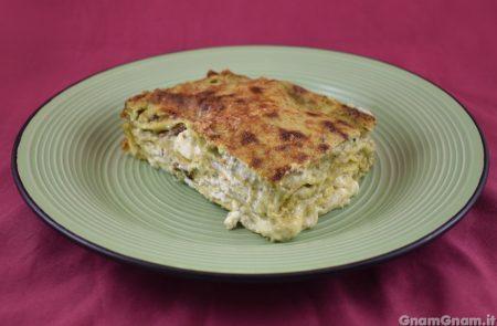 Lasagne speck e pistacchio