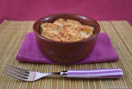 Sformato di patate e prosciutto