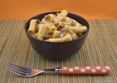 Pasta zucca e mascarpone