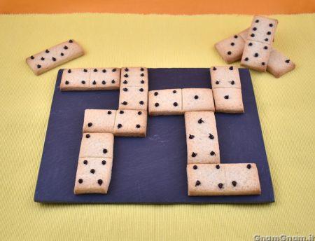 Biscotti a forma di domino
