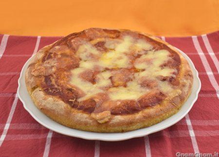Pizza con lievito di birra secco