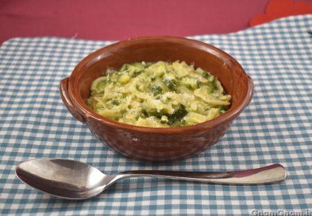Pasta e zucchine napoletana