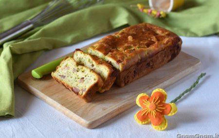 Plumcake prosciutto e zucchine