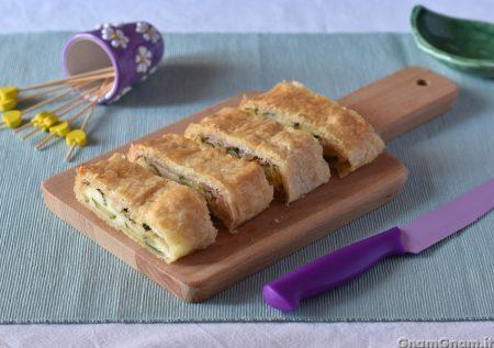 Strudel prosciutto e zucchine