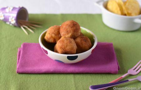 Polpette di prosciutto e patate