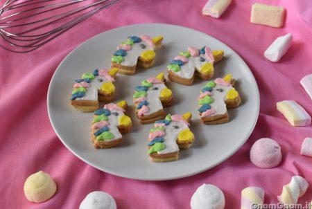 Biscotti unicorno