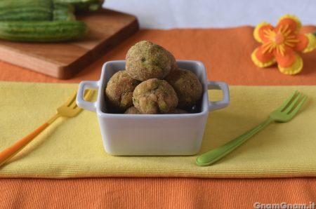 Polpette di zucchine e alici