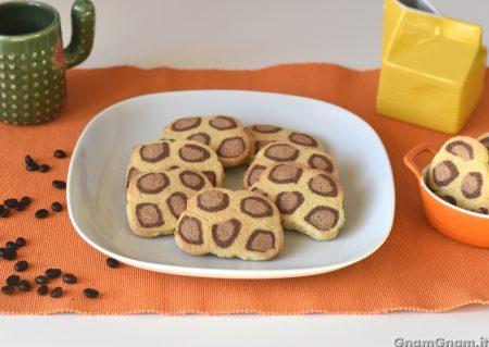Biscotti leopardati
