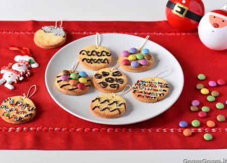 Palline di Natale biscotto