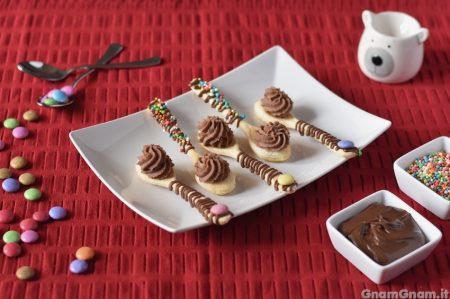 Cucchiaini di sfoglia dolci