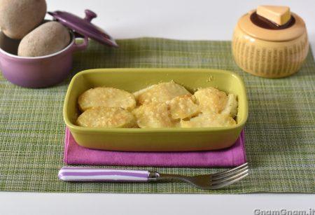 Sformato di patate e baccalà