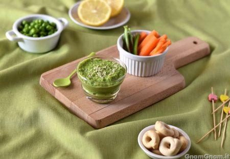 Hummus di piselli