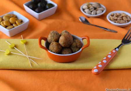 Polpette di pollo e zucchine