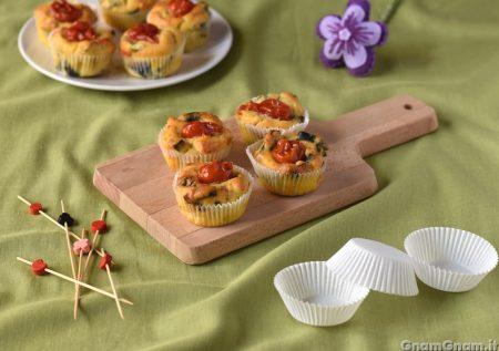 Muffin alla norma